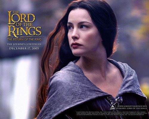 Lord of the Rings wallpaper entitled Arwen