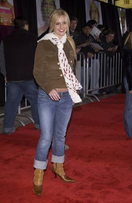 Ashlee Simpson in 2002