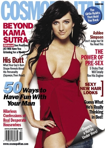 Ashlee Simpson in Magazines