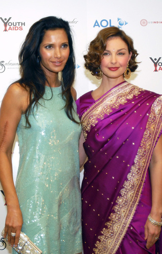 Ashley & Padma Lakshmi
