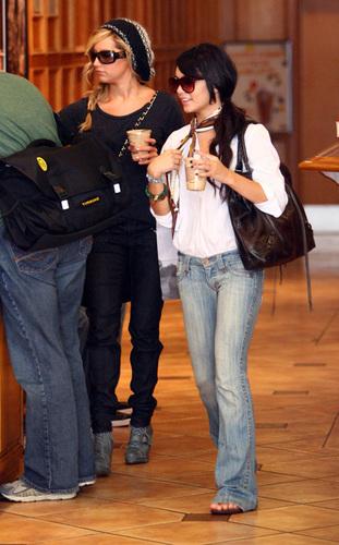 Ashley Tisdale & Vanessa