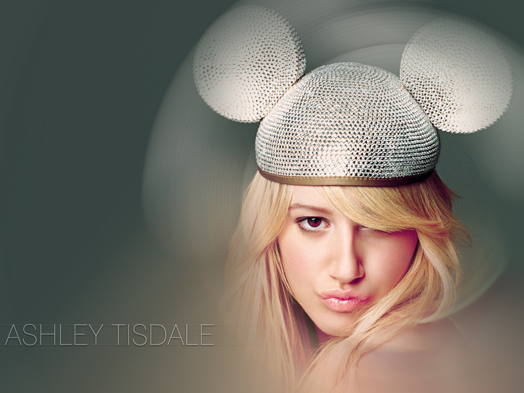 Ashley Tisdale sexy wallpaper