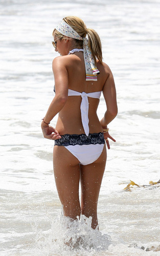 Ashley Tisdale in bikini