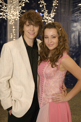 Life With Derek wallpaper titled Ashley and Michael