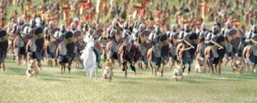 Aslan's Army Charging