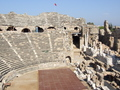 Aspendos Amphitheater - ancient-history wallpaper
