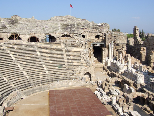 Ancient History wallpaper titled Aspendos Amphitheater