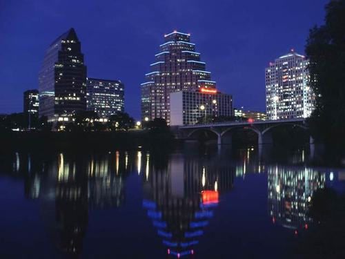 Texas wallpaper called Austin Skyline