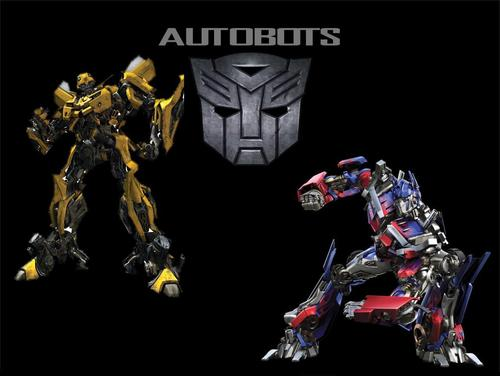 Transformers wallpaper entitled Autobot Wallpaper