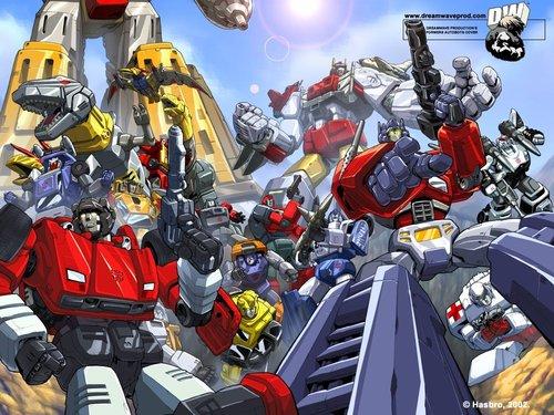 ट्रांसफॉर्मर्स वॉलपेपर called Autobots