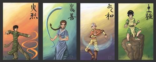 Avatar –Der Herr der Elemente Hintergrund titled Avatar