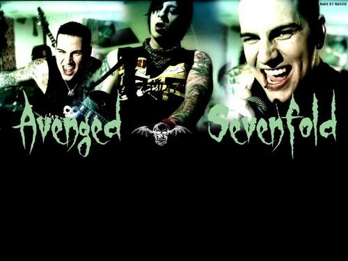 Metal wallpaper titled Avenged Sevenfold