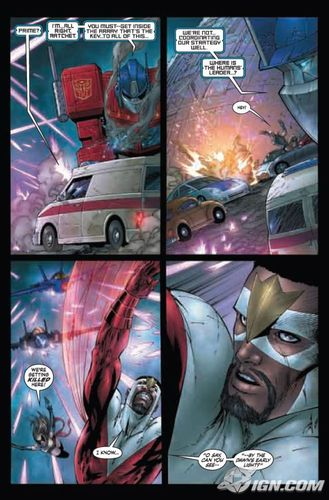 Avengers/Transformers3 Preview