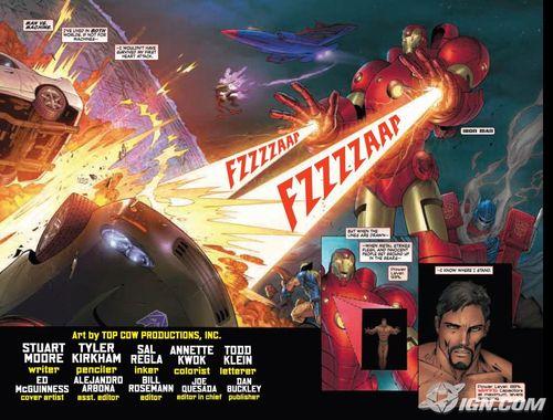 Avengers/Transformers3 Vorschau