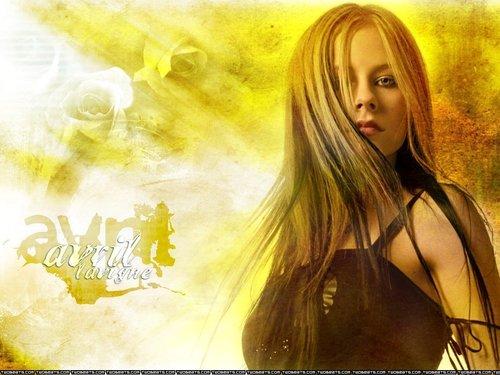 আভ্রিল লেভিনে দেওয়ালপত্র titled Avril Lavigne