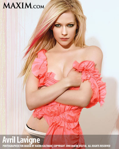 Avril @  Maxim - avril-lavigne Photo