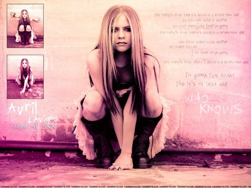 Avril Lavigne wallpaper titled Avril