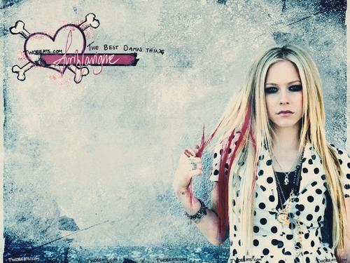 Avril Lavigne پیپر وال titled Avril
