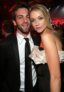 B.J. Novak and Katrina Bowden