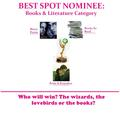 BEST SPOT: Books & Literature - the-fanpoppy-awards photo