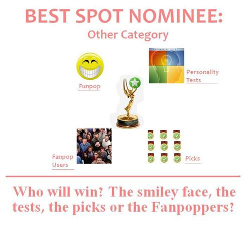 The Fanpoppy Awards wallpaper titled BEST SPOT: Other