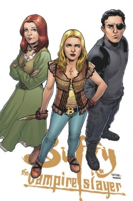 Buffyverse Comics achtergrond titled BTVS