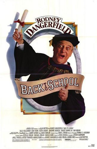 80s Films 바탕화면 entitled Back to School (1986)