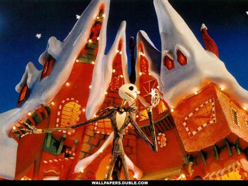 Nightmare Before Christmas wallpaper entitled Background