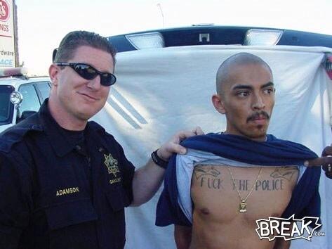 Bad Boy Tattoo