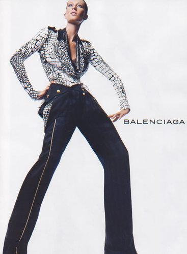 Balenciaga Ads w/Gisele