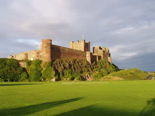 Bamburgh Castle in England - castles Wallpaper