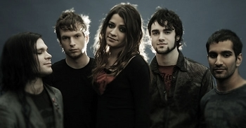 Flyleaf wallpaper titled Band