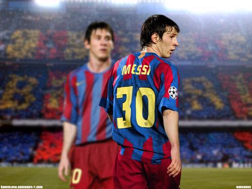 Barça's Players پیپر وال