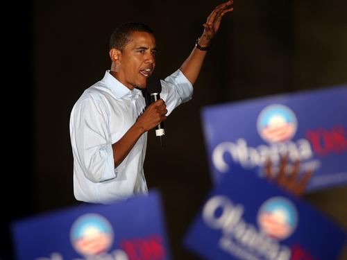 Barack Obama & Supporters