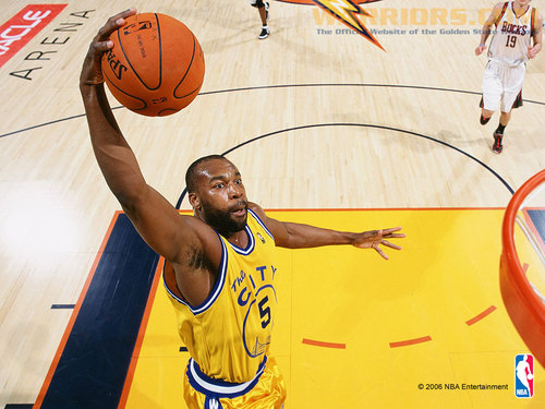 Golden State Warriors wallpaper called Baron Davis