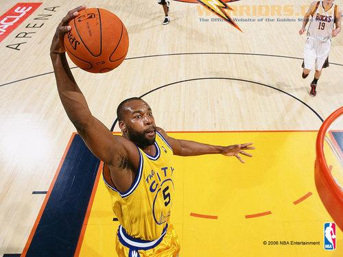 Golden State Warriors wallpaper entitled Baron Davis