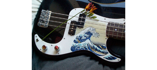 Bass Guitars - guitar Photo