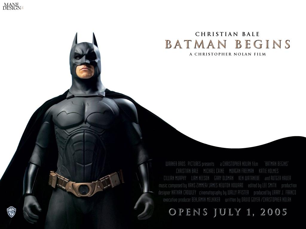 バットマンビギンズの壁紙