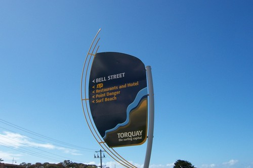 Torquay Beach Sign