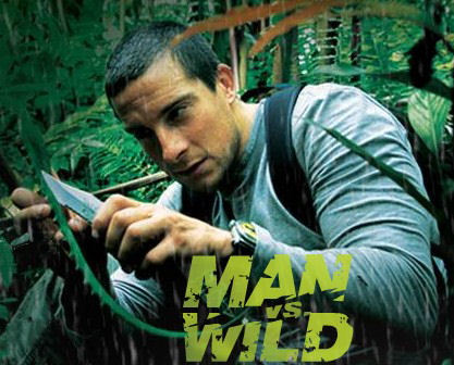 man vs wild or man vs man I soon learned that the television presenter was bear grylls, star of discovery  channel's man vs wild series (born survivor in the uk) i wrote to.