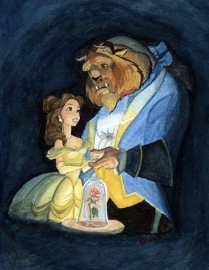 Beauty & The Beast - disney Fan Art