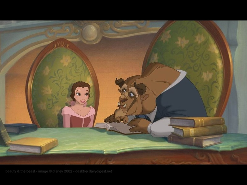 Bookseller From Beauty And The Beast. Beauty and the Beast - Beauty