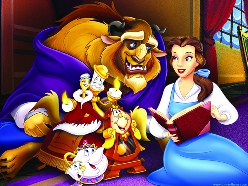 Beauty and the Beast wallpaper called Beauty and the Beast