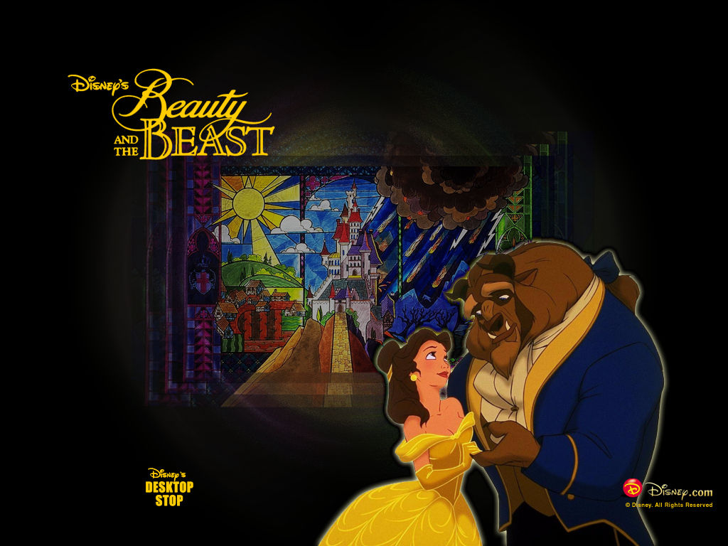 Beauty and the Beast  Disney Wallpaper 121560  Fanpop