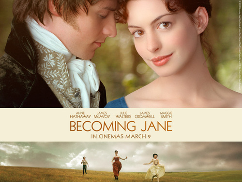 Anne Hathaway wallpaper entitled Becoming Jane
