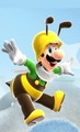 Bee Luigi - super-mario-galaxy photo
