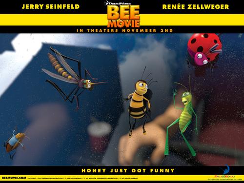 sinema karatasi la kupamba ukuta called Bee Movie