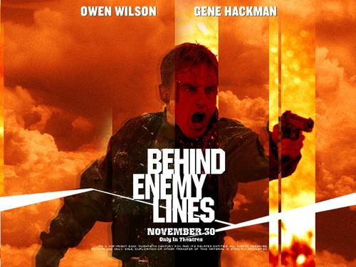 Owen Wilson پیپر وال titled Behind Enemy Lines