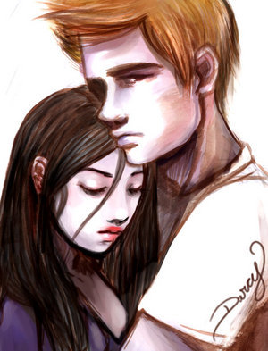 Bella and Edward by Anne-Marie