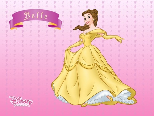 Disney Princess wolpeyper called Belle